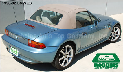 Robbins 2750c Bmw 1996 02 Z3 Roadster Convertible Top
